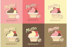 Free vector Free Vector Muffin Set #21488