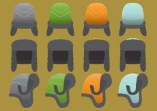 Free vector Fur Hat Vectors #26220
