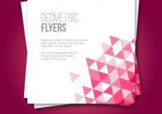 Free vector Geometric flyers #20700