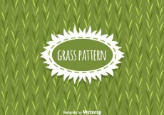 Free vector Grass Pattern Background Vector #24827