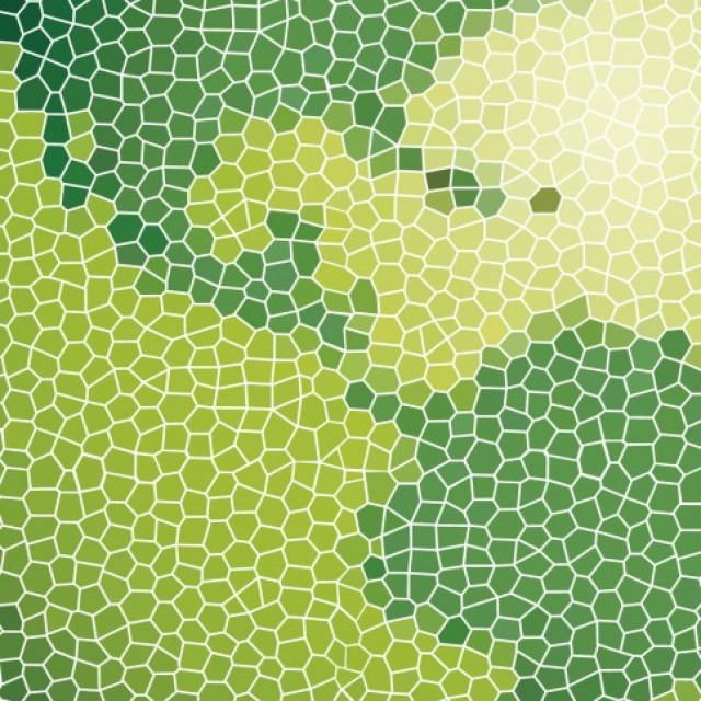 Free vector Green map of America made with tiles #24396
