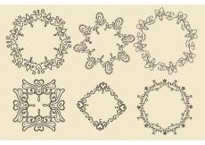 Free vector Hand Drawn Frames #23031