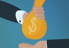 Free vector Hand giving money to other hand #21174