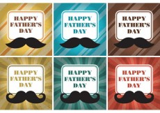 Free vector Happy Father's Day Card Vectors #21809