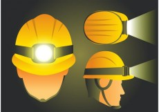Free vector Helmet with Light Vectors #23890