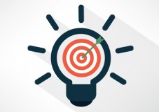 Free vector idea and target concept #21770