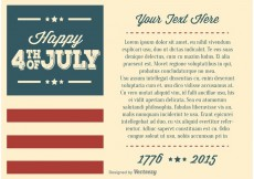 Free vector Independence Day Illustration #23962