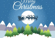 Free vector Merry Christmas Card #25863