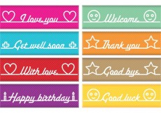Free vector Messages Banner Vectors #22011