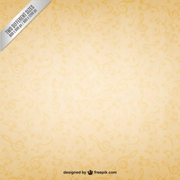 Free vector Music notes background #25611