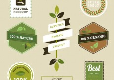 Free vector Natural product labels #22128