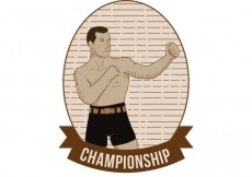 Free vector Old Time Boxing Vector #27386