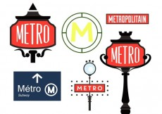 Free vector Paris Metro Sign Vectors #22835