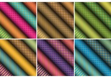 Free vector Patterned Scrolled Paper Vectors #23378