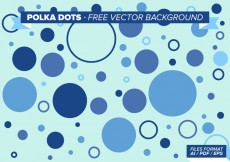 Free vector Polka Dots Free Vector Background #20475