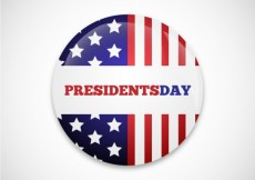 Free vector Presidents day badge #22362