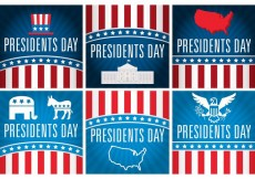 Free vector Presidents Day Vector Cards #27548