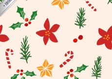 Free vector Pretty Christmas Patter #26093
