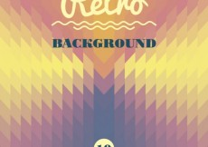 Free vector Retro geometrical background #24210
