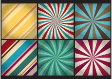 Free vector Retro Sunburst Vector Backgrounds #28049