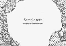 Free vector Scribble background  #22603
