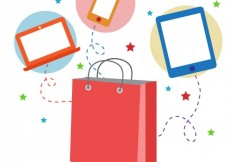 Free vector Shopping online concept #20442