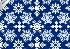 Free vector Snowflakes pattern #27075