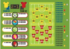 Free vector Soccer Vector Graphics #27458