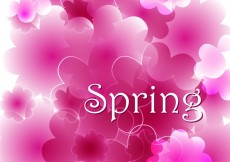 Free vector Spring #23659