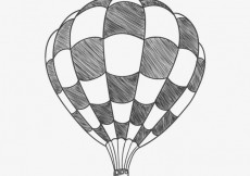 Free vector Squared air balloon  #22469