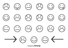 Free vector Assorted Smiley Face Icons #21765