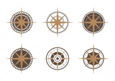 Free vector Compass Icon Set #24299