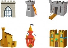 Free vector Fantasy Fort Set #23670