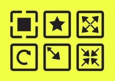 Free vector Vector Icons of Full Screen #20693