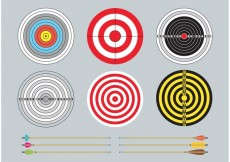 Free vector Targets And Arrows #22243