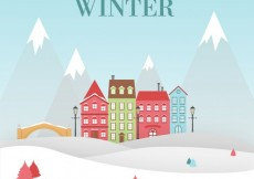 Free vector Welcome winter #24896