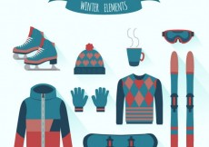 Free vector Winter Clothes Collection #25801