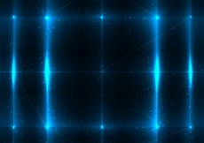 Free vector Abstract Blue Lights Background #29275