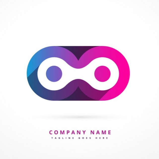 Free vector Abstract colorful logotype #32768