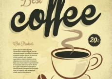 Free vector best coffee #32464