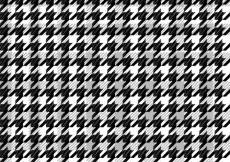 Free vector Black pattern houndstooth #30284
