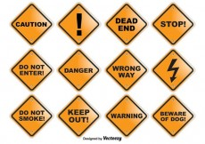 Free vector Caution Vector Signs #30403