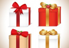 Free vector Christmas Gifts Icon Collection #31514