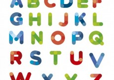 Free vector Colorful typography #30948