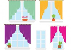 Free vector Colorful Windows #34348
