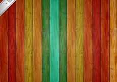 Free vector Colorful Wood Texture #30328