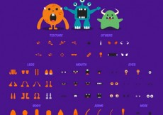 Free vector Customizable monsters #30084