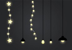 Free vector Free Hanging Light Vector Illustration #31710