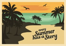 Free vector Free Summer Vector Background #30890
