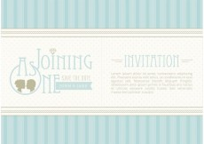 Free vector Free Vector Save The Date Invitation #34394